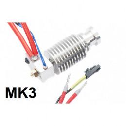 Assembled hotend E3D (MK3)