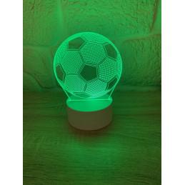 LED Lamp Illusion 3D Soccer...