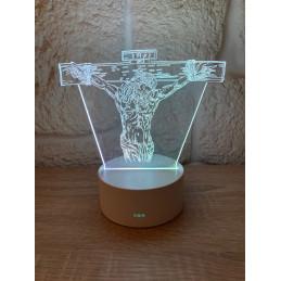 LED Lamp Illusion 3D Jesus...