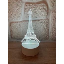 LED Lampa Ilúzia 3D Eifelovka