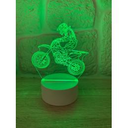 Lampe LED Illusion 3D Croix...