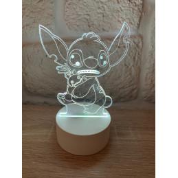 LED-Lampe Illusion 3D Stitch
