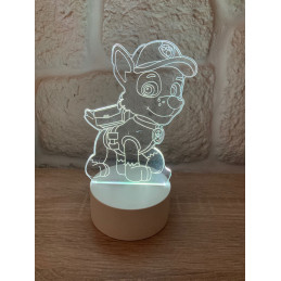LED Lamp Illusion 3D Paw...