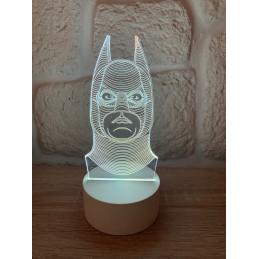LED Lamp Illusion 3D Batman