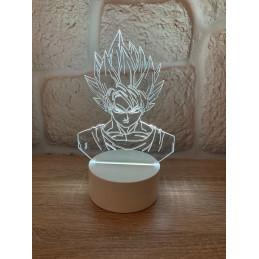 LED Lamp Illusion 3D Dragon...