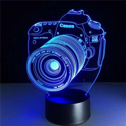 LED Lamp Illusion 3D Camera