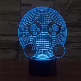 LED Lamp Illusion 3D Ball