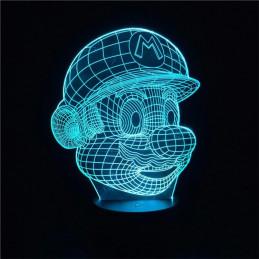 LED Lamp Illusion 3D Super...
