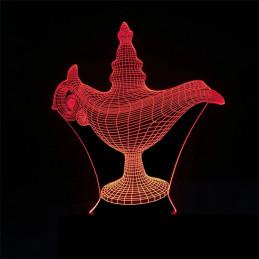 LED Lamp Illusion 3D Lamp