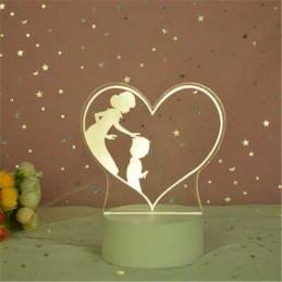 LED Lamp Illusion 3D mom...