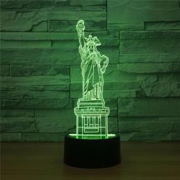 LED Lamp Illusion 3D statue...