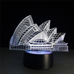 LED Lamp Illusion 3D Sydney