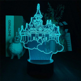 LED Lamp Illusion 3D Disney