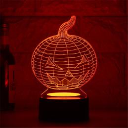 LED Lamp Illusion 3D Halloween