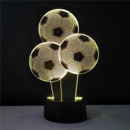LED Lamp Illusion 3D Socker...