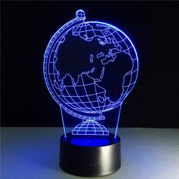 LED Lamp Illusion 3D Globes