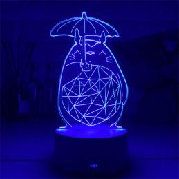 LED Lamp Illusion 3D Cat 2