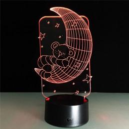 LED Lamp Illusion 3D Good...