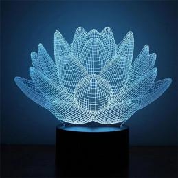 LED Lamp Illusion 3D Desert...