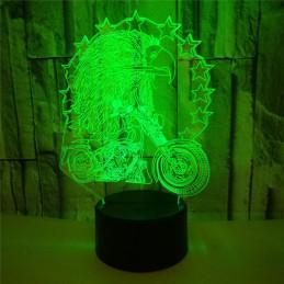 LED Lamp Illusion 3D Eagle...