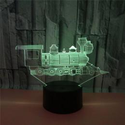 LED Lamp Illusion 3D...