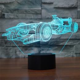 LED Lamp Illusion 3D F1
