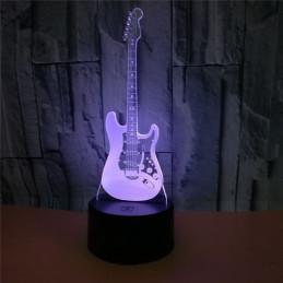 LED Lamp Illusion 3D Guitar 2