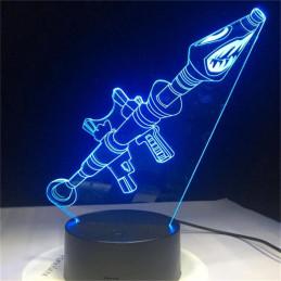 LED Lamp Illusion 3D bullet...