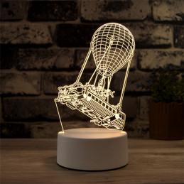 LED Lamp Illusion 3D Airship