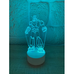 Lampe LED Illusion 3D Goldorak