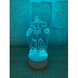 LED Lamp Illusion 3D Goldorak